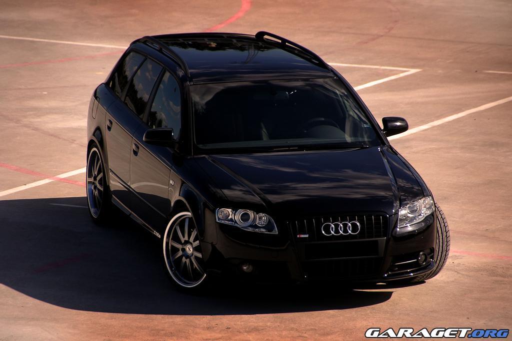 Pictures Black Audi A4 2 0 Ts Quattro Avant B7