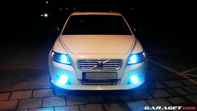 Volvo v50 xenon