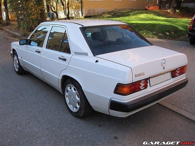 Garaget bruksbil mercedes 190e 92 allm nt mekande for Garage mercedes 94