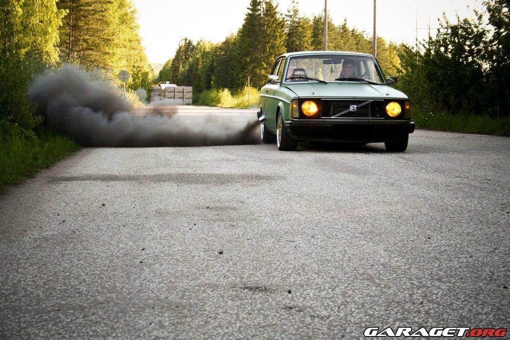 Umm... a 240 Volvo wagon LSx swap.