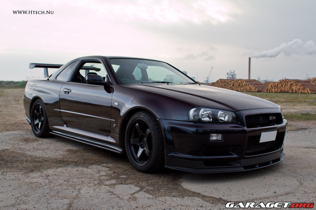 Ls14 Nissan Skyline R34 Gtr Quot Midnight Purple Quot 1999