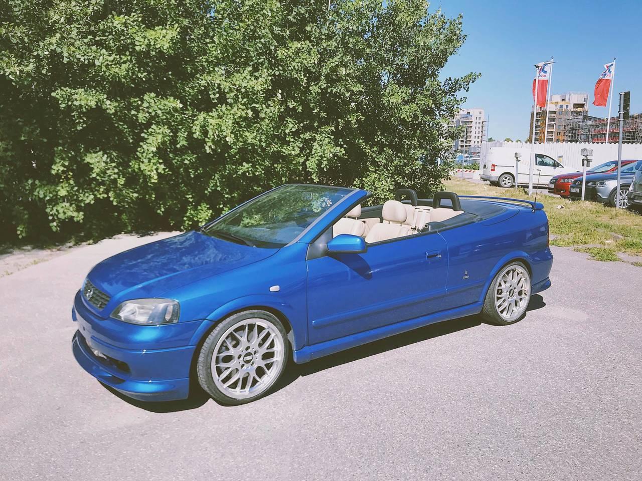 Cabrio astra forum g 2001 Opel