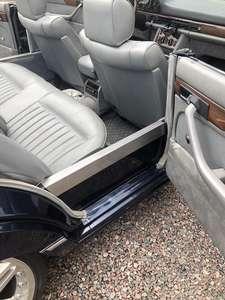 Mercedes W126 300SE Cab