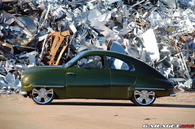 Muscle Saab 92 B De Luxe (1956) on Sale – SAAB Planet
