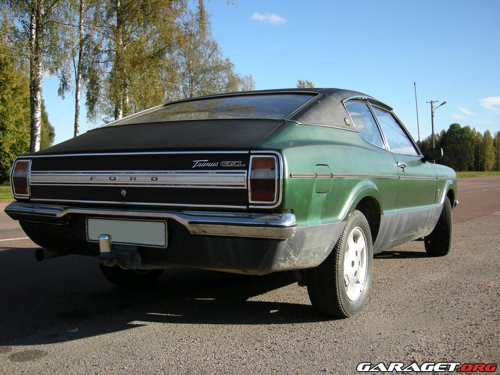 ford taunus gxl coupe 1973 garaget. Black Bedroom Furniture Sets. Home Design Ideas