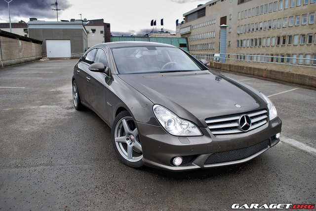 mercedes cls 500 amg 2007 garaget. Black Bedroom Furniture Sets. Home Design Ideas