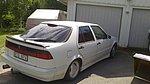 Saab 9000 2,3 turbo med 16 vänrilare