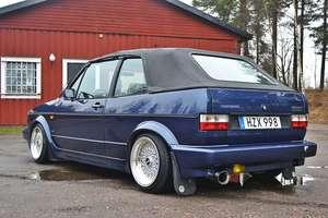 Volkswagen Golf Mk1 cab karmann