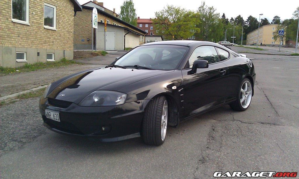 hyundai coupe v6 2 7 sport se 2005 garaget. Black Bedroom Furniture Sets. Home Design Ideas
