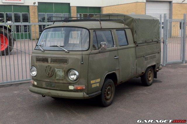 Volkswagen dubbelhytt pickup typ2 bay dh 1972 garaget for Garage volkswagen rueil malmaison 92
