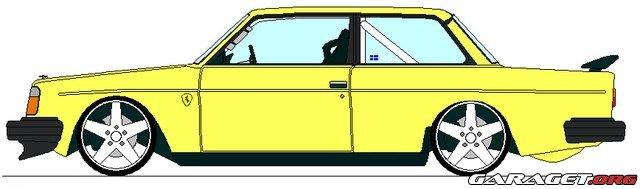 Volvo 242 Dl Turbo 1975 Garaget