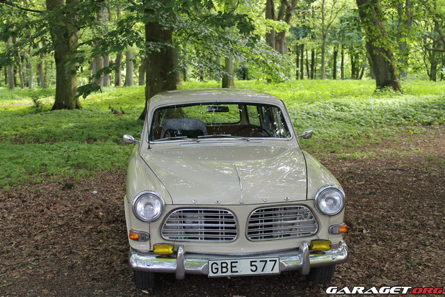 Volvo amazon 1968 garaget for Garage auto galon