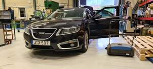 Saab 9-5 Aero Xwd