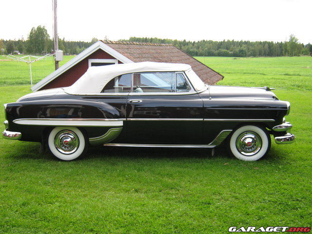 Chevrolet bel air 1954 garaget for Garage auto galon