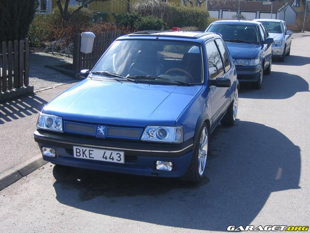 Peugeot 205 gti le mans 1991 garaget for Garage peugeot le mans
