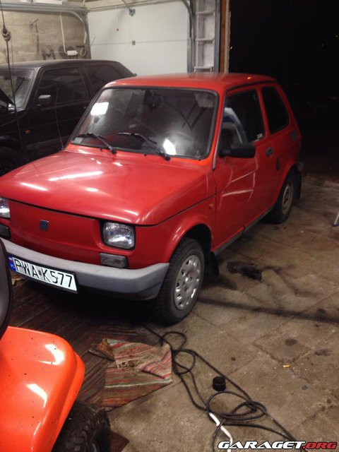 Garaget fiat 126p 1997 for Garage auto galon