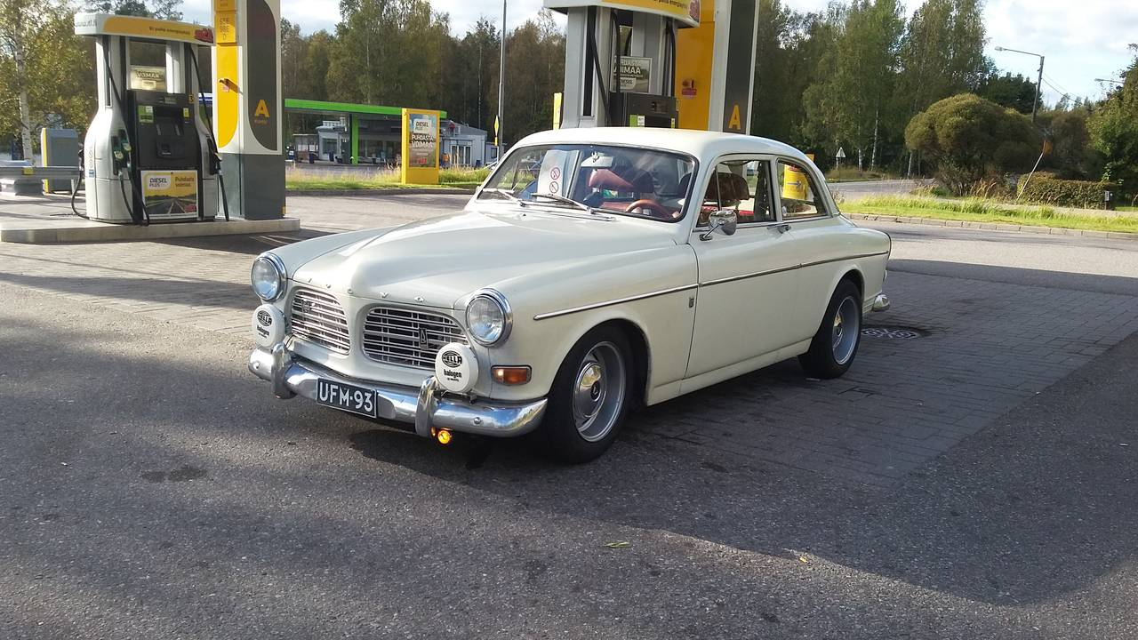 Volvo amazon 1971 garaget for Garage auto galon
