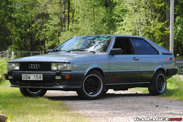 audi gt coupe 1983 garaget. Black Bedroom Furniture Sets. Home Design Ideas