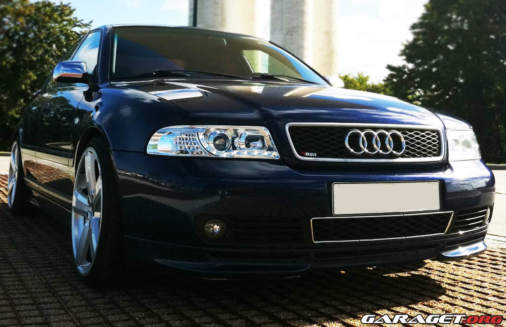My 300hp A4 Now Upgraded With New R8 Style Headlights