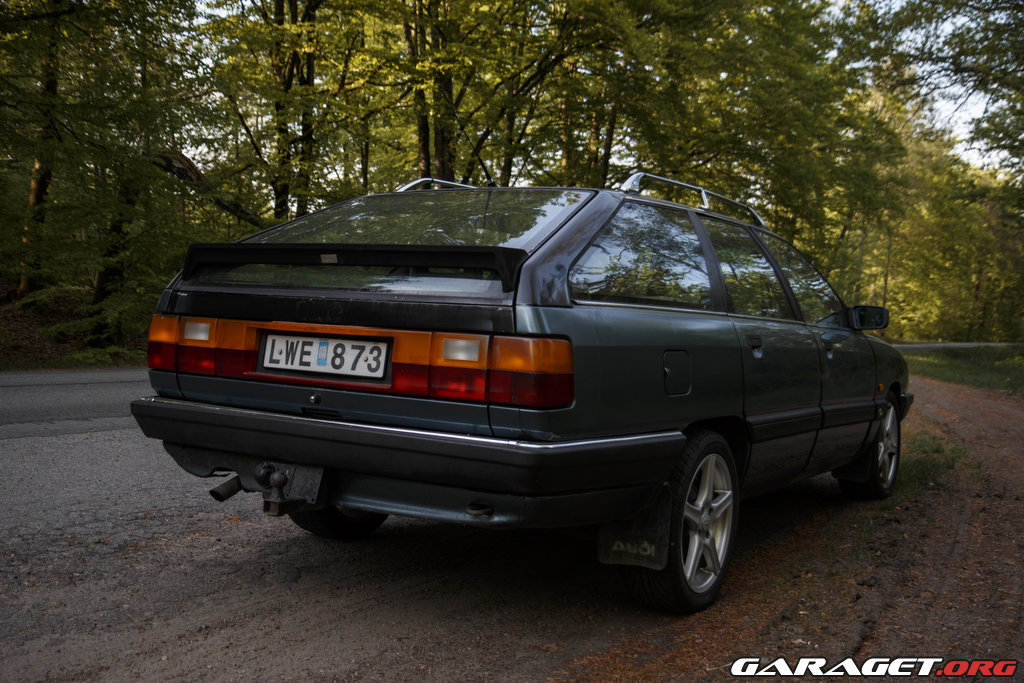 Audi 100 Diesel Turbo (1984) - Garaget