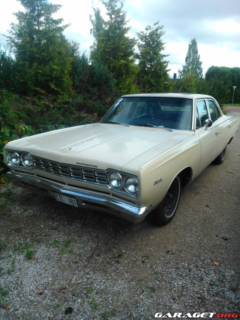 Garaget plymouth satellit 1968 for Garage auto galon