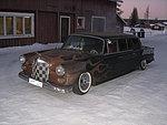 Mercedes 200d lång lowrider