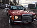 Mercedes W123 300D Turbo