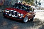 Mercedes W123 300D Turbo
