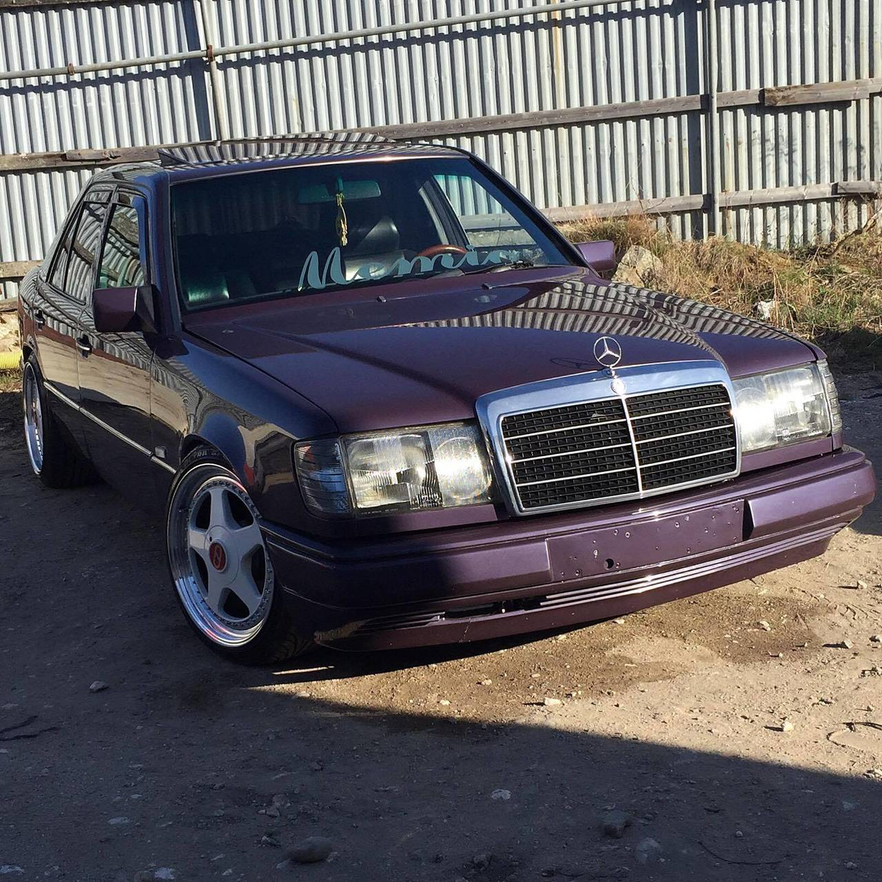 mercedes w124 300d om606 turbo 1992 garaget. Black Bedroom Furniture Sets. Home Design Ideas