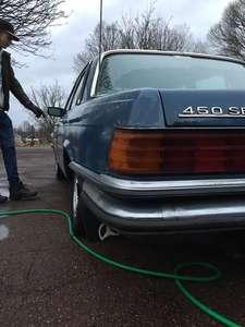 Mercedes 450 SE W116