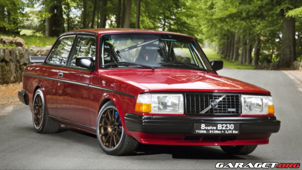 "Volvo 242 Turbo ""710 HK 913 NM B230 8v"" (1975) 