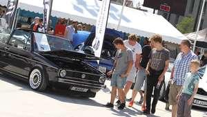 Volkswagen Golf mk1 GLS Cabriolet