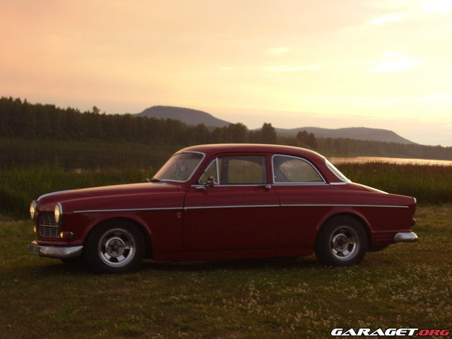 Volvo amazon 1964 garaget for Garage auto galon