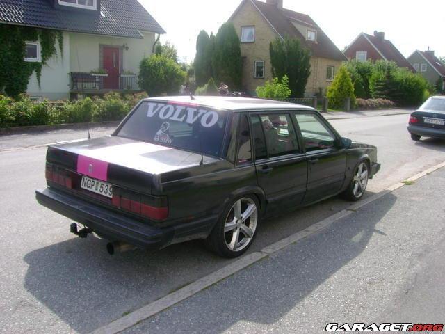 on 1995 Volvo 740 Gle