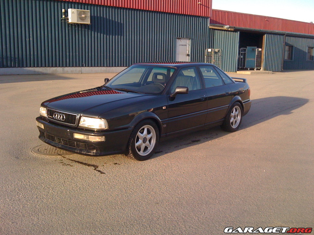 The audi 80 competition,