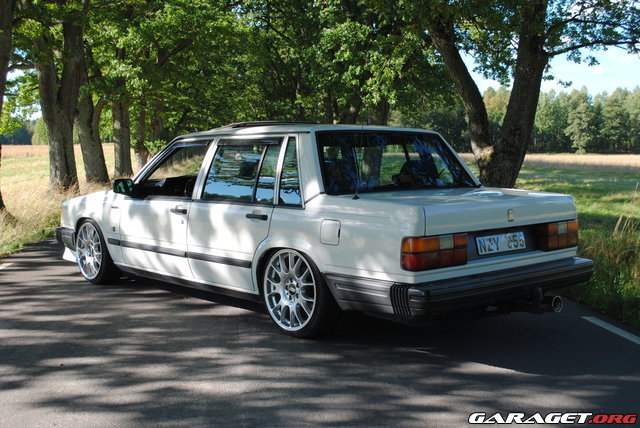 Volvo 740 -88 with m50b25 turbo