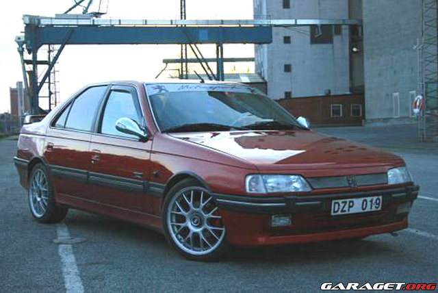 Peugeot 405 mi16 le mans 1995 garaget for Garage peugeot le mans
