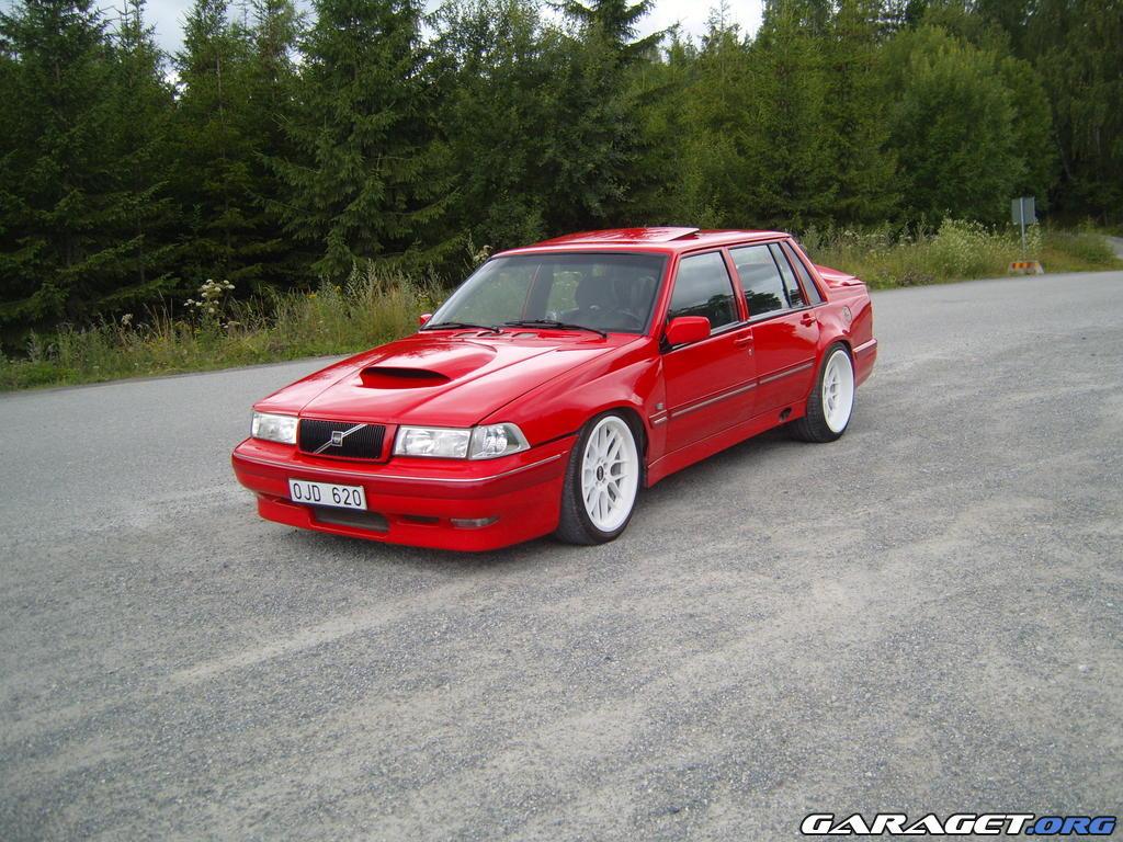 Garaget Volvo 740 Turbo 1990