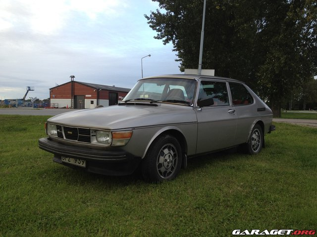 Garaget saab 99 gl super special 1977 for Garage auto galon