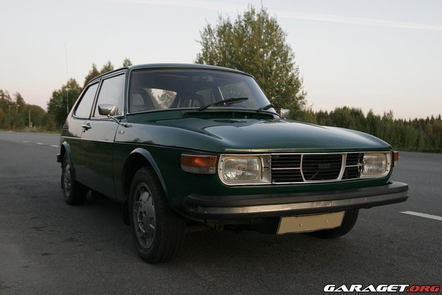 Saab 99 ls 1975 garaget for Garage auto galon