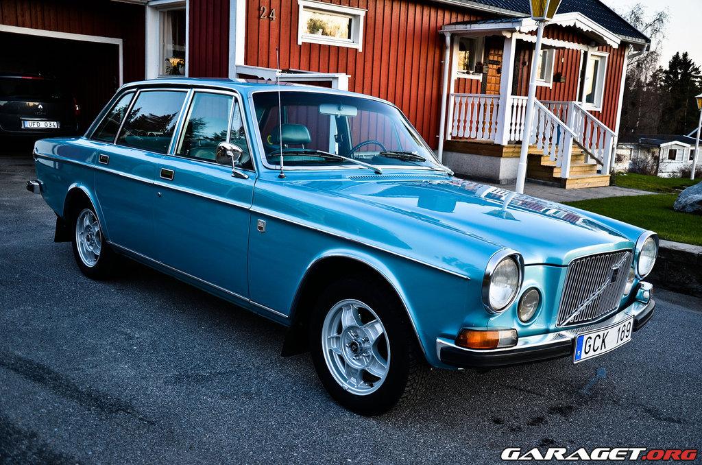 Garaget Volvo 164 1973