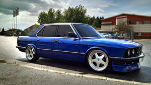 BMW E28 545 Turbo