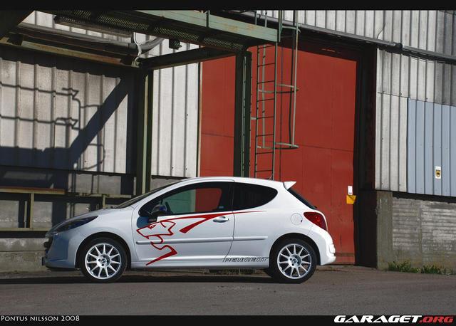 Peugeot 207 rc 2008 garaget for Garage peugeot 44