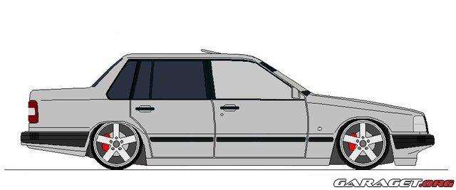 Garaget volvo 940 turbo 1994