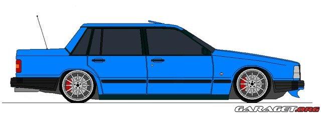Volvo 740 Turbo 1987 Garaget
