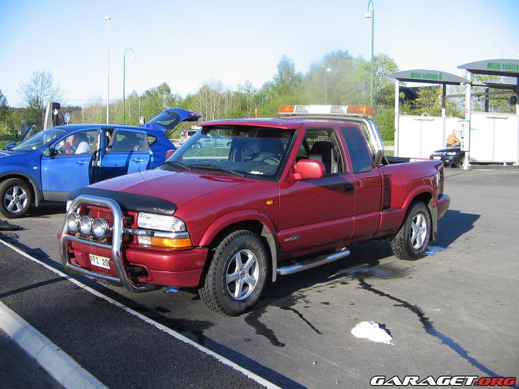 Chevrolet S10 Stepside (1999)   Garaget