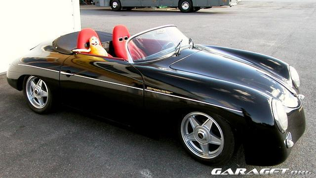 porsche 356 speedster replika 1957 garaget. Black Bedroom Furniture Sets. Home Design Ideas