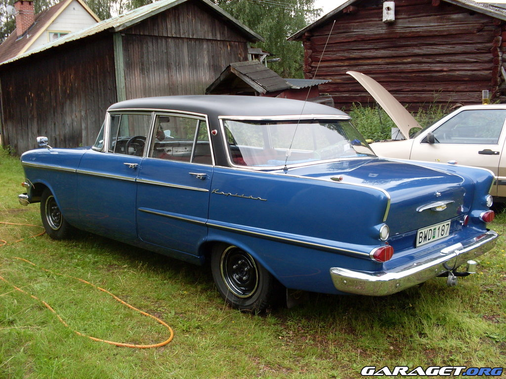 Opel Kapit 228 N 1962 Garaget