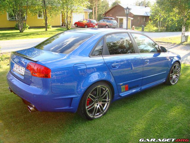 My 2006 Audi A4 B7 20tfsi 220hp Quattro Dtm Edition Sprint Blue