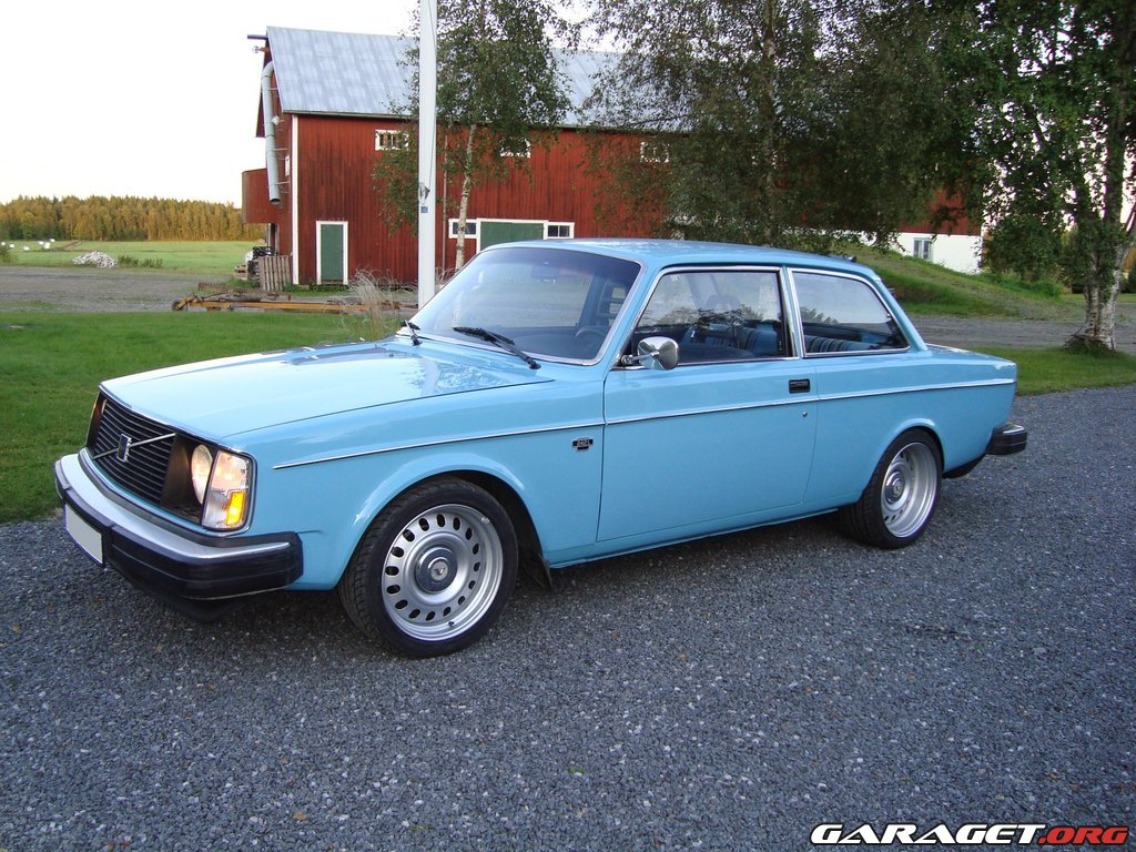 Volvo 242 L 1975 Garaget